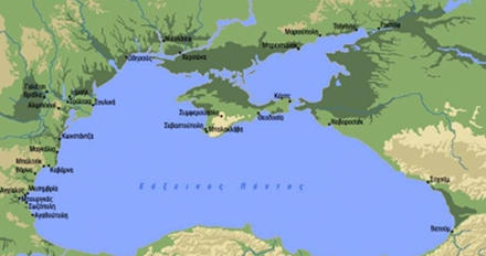 χάρτης πόντου