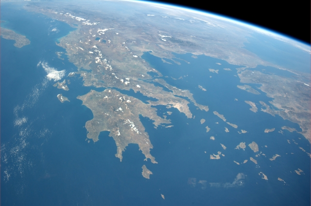 Greece from above