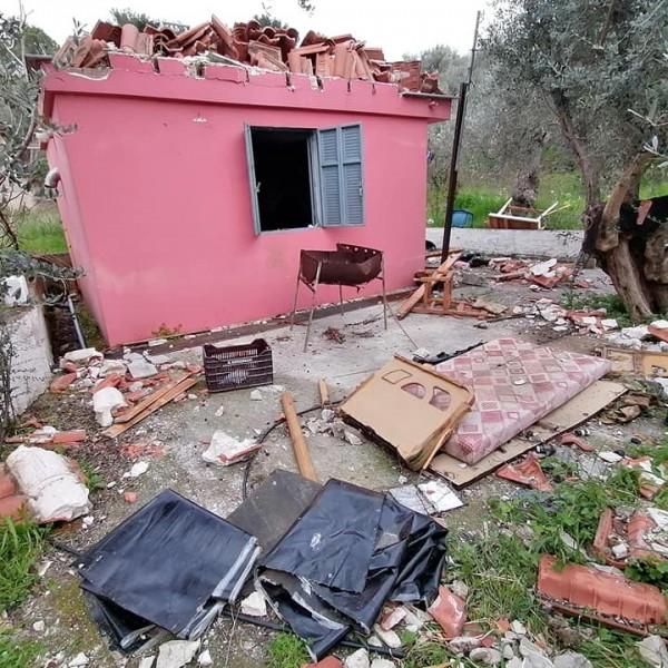 Καταστροφές στη Μόρια